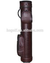 crocodile PU alligator pu golf gun bag