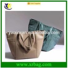 fashion design 2015 leather women trendy hand bag