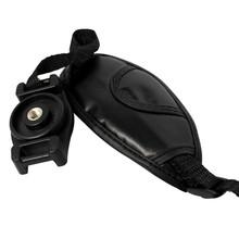 Portable camera quick strap ,leather dslr camera hand strap grip