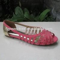 2015 hot sale sexy flat fish lips fashion shoes ladies