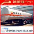 Brand new 3 eixos 50000 litros de combustível entrega trailer/gasolene reboque tanque/gpl petroleiro reboque para venda
