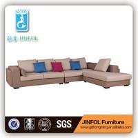 fabric l shape sofa cover JF923