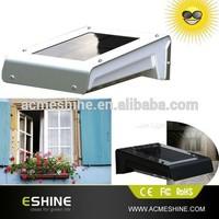 Outdoor PIR led wireless solar powered motion sensor light Solar motion sensor Security light Led solar Motion Sensor Light