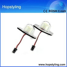 Free shipping car light china supplier for Jazz/For Odyssey/ For Fit license plate light canbus No Error code