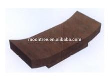 Elegant Design MCT-1139 High End Ebony Wood Coffee Table