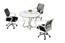 güçlü ve ucuz antika beyaz mobilya yuvarlak masa