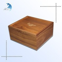 new style individual laser cut packaging wooden cosmetic case