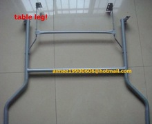 durable wrought iron table leg