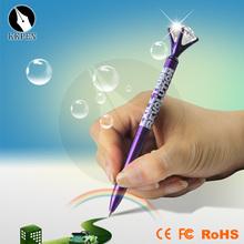Jiangxin Plastic material twist hotel slim pen for students
