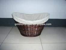 Willow basket -natural liner,basket