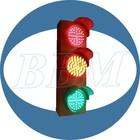 100mm traffic light installation easily