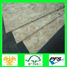 1220*2440*6/9/12/15/18mm osb plain particle board plastic chipboard with combi core