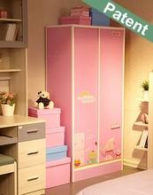 New corner wardrobe design, sliding door design bedroom furniture plastic wardrobe closet