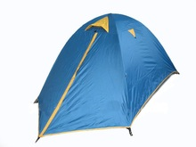 Hot Selling Double Person Double Layers Outdoor Camping Tent