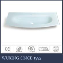 Integrated Bowl Sink Bathroom Vanity Countertop Sink Cabinet Top Mounted Sink