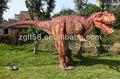 Andar de dinossauros do traje, realista da vida tamanho do dinossauro fantasia para adultos