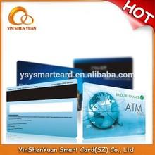 2015 latest professional plastic pvc visa card