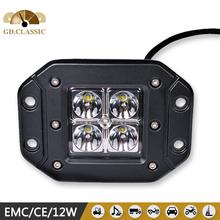 professional off road led light 12w drive light led