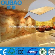 2015 new product faux stone plastic composite construction building modern house interior decoration tile roof