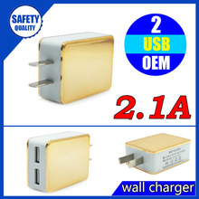 Newest style cell phone accessory universal cheap dual usb charger