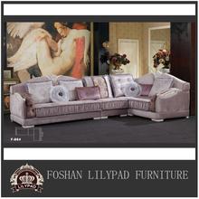 Corner sleeper armrest sofa set designs purple sectional sofa