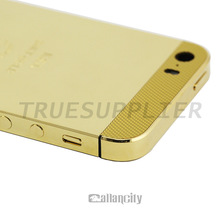 24k limit edition for iphone 5 gold body back cover