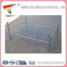 Hot sale double bed designs in steel