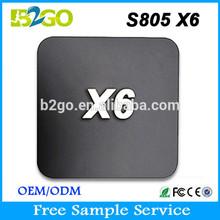 OEM X6 Amlogic S805 Quad Core android 4.4 mini pc