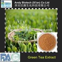 Polyphenol 98%, Catechins 80%, EGCG 50% Pure Bio Green Tea Extract Powder