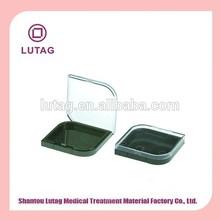 single Plastic Beauty Cosmetic Case Pressed powder case