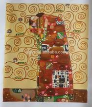 2015 hot order handpainted gustav klimt art picture painting