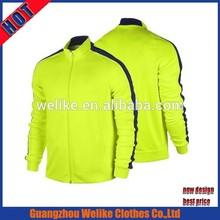 Football training 2015 soccer jacket hot sale athlete sport coat men wholesale winter football training tracksuits