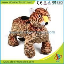 GM59 children play land toy zippy big plush tiger