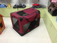 Pet Carrier cage stainless steel dog crate