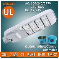 UL double arm street light pole 150W with 5 Years Warranty,Replace 300w Halogen Light