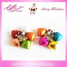 Wholesale direct sale christmas tree decoration ,heart shaped christmas decoration
