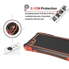 For Verizon, T-Mobile cellphone 360 perfect protecting,High-end metal shockproof frame bumper cover for iphone 6