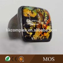 DongGuan Factory making the flower fashion jewelry ring