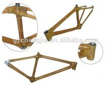 Super hardness bamboo road bike frame made in China