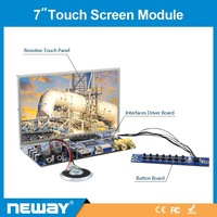 "Advertise touch screen 7"" vga lcd module"