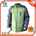 Hj08 7.4v climatizada de atletismo de prendas de vestir de viento chaqueta para hombre ropa