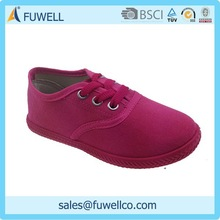 New products kids canvas shoes