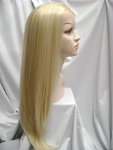Elegant-wig top quality real human hair wig reasonable price blonde human hair full lace wig