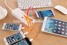 MFi certified intelligent 8 ports USB desktop charger