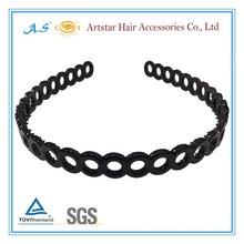 small hole plastic headbands with teeth