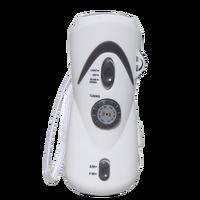 Dynamo Radio Hand Crank With Rechargeable Flashlight