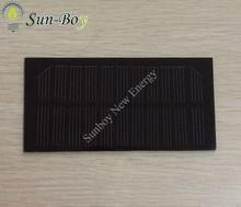 PET Laminated 5.5V 150mA Solar Panel (for Charging Li-ion Battery)