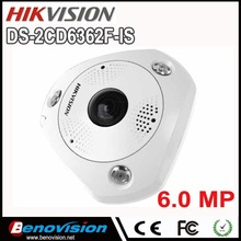 POE Wide Angle View 360 6 megapixel Camera DS-2CD6362F-IS Fisheye Hikvision Network Camera