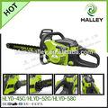 52cc gas powered motosierra/sierra cadena del árbol de corte