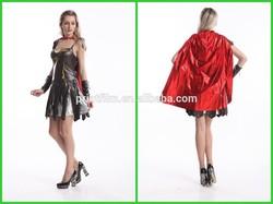 Ladies Xena Gladiator Costume Warrior Roman Princess Spartan Fancy Dress & Cape